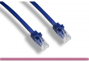 Purple Color Cat 6a UTP Patch Cable