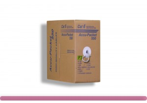 Cat. 6 CMR UTP Solid Ethernet Bulk Cable 550MHz White