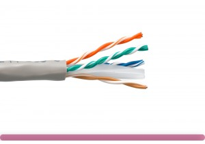 Cat. 6 UTP Stranded Ethernet Bulk Cable 550MHz Gray