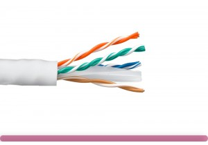 Cat. 6 UTP Stranded Ethernet Bulk Cable 550MHz White