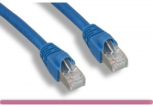 Blue Cat 6 STP Patch Cable