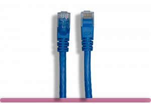 Blue Color Cat 5e UTP Patch Cable