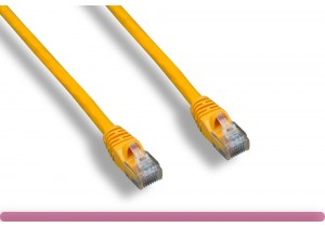 Yellow Color Cat 6 UTP Patch Cable