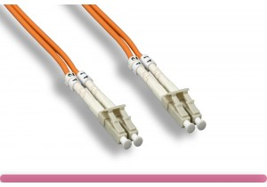 3.0MM OM2 LC / LC 50/125 Multi-Mode Fiber Cable