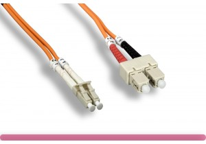 OM2 LC / SC 50/125 Multi-Mode Fiber Cable