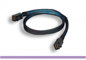 SFF8643 to SFF8643 Internal HD Mini SAS Cable