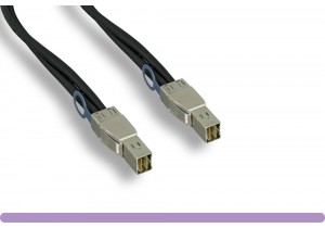 SFF8644 to SFF8644 External HD Mini-SAS Cable