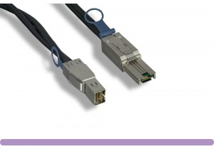 SFF8644 to SFF8088 External HD Mini-SAS to External Mini-SAS Cable