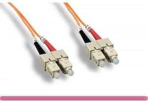 OM1 SC/SC 65.2/125 Multi-Mode Fiber Cable