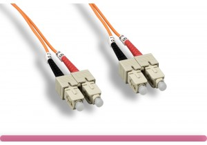 3.0MM SC/SC 65.2/125 OM1 Multi-Mode Fiber Cable