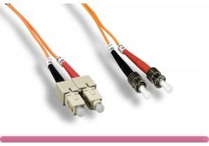 SC/ST 65.2/125 OM1 Multi-Mode Fiber Cable