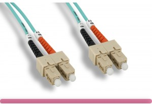 OM3 SC/SC 10G Multi-Mode Fiber Cable