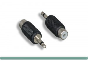 3.5mm Mono Male to RCA Female Adapter