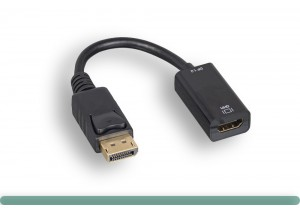 4K@60Hz DisplayPort to HDMI Active Adapter