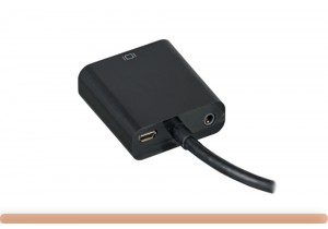 HDMI to VGA Converter with Audio and Power
