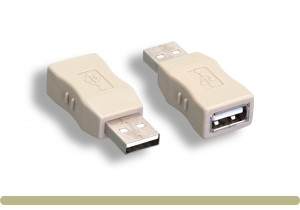 USB 2.0 Type A M / F Gender Changer
