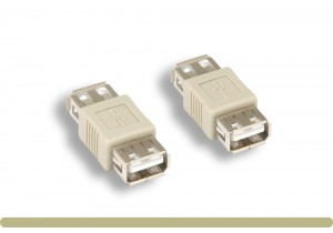 USB 2.0 Type A F / F Gender Changer