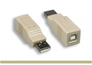 USB 2.0 Type AM to BF Adaptor