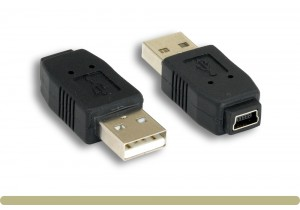 USB 2.0 AM / Mini 5 Pin Adaptor