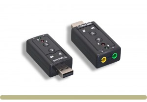 USB Virtual 7.1 Channel Sound Adapter