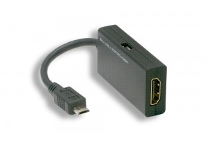 Micro USB Male to HDMI MHL Adaptor