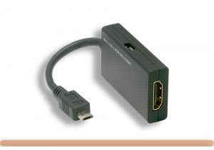 Micro USB Male to HDMI MHL Adapter