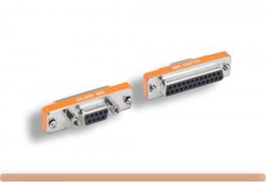 DB9 to DB25 AT Modem Mini Adapter