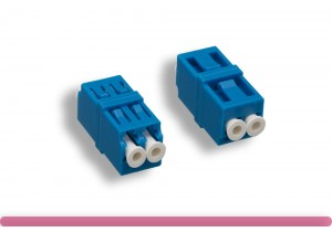 Single-Mode LC/LC Duplex Fiber Optic Coupler