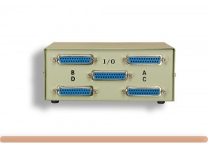 4-Way DB25 Manual Data Switch