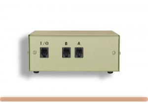 2-Way RJ11 Manual Data Switch