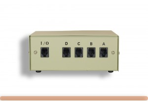 4-Way RJ11 Manual Data Switch