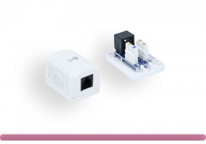 1-Port Cat. 5e Surface Mount Box