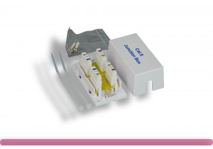 Cat.6 Junction Box, 110 Punch Down Type