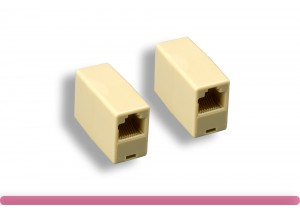 RJ-45 8P/8C Straight-Through Inline Coupler