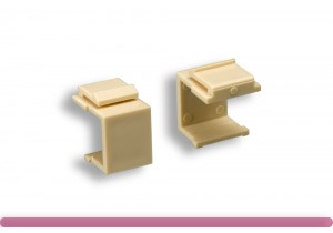 Blank Insert for Wall Plate Ivory Color