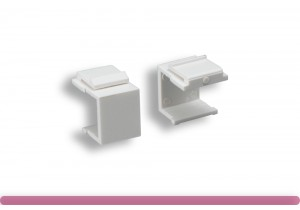 Blank Insert for Wall Plate White Color