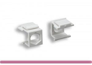 Blank Insert for F-Type Connector White Color