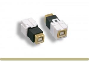 USB 2.0 BF / BF Keystone Insert Module