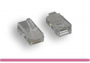 Cat. 5 Modular Plug Solid Wire 50U