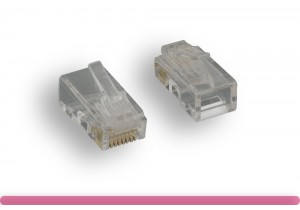 Cat. 5e Modular Plug Solid Wire 50U