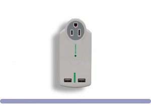MIni 3 Outlet With 2 USB Ports