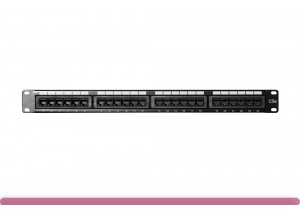 24-port Cat 5e Patch Panel 110 Type