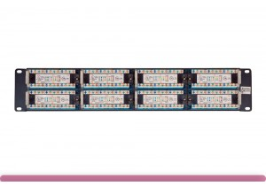 48-port Cat 5e Patch Panel 110 Type