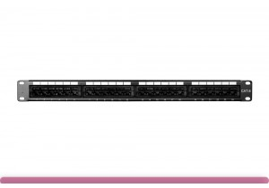 24-port Cat 6 Patch Panel 110 Type