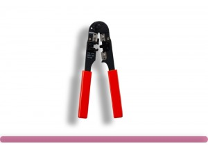 RJ-11/RJ-12 Modular Plug Crimping Tool without Ratchet