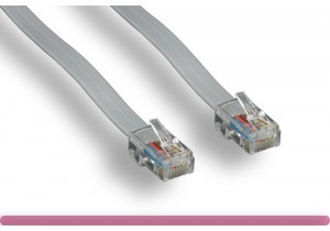RJ-45 8P8C Straight Modular Phone Cable