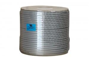 6C UL 26AWG Modular Flat Bulk Cable