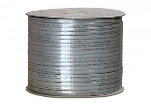 8C 28AWG Modular Flat Bulk Cable