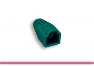 RJ45 Strain Relief Boot Green Color