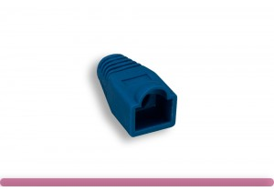 RJ45 Strain Relief Boot Blue Color